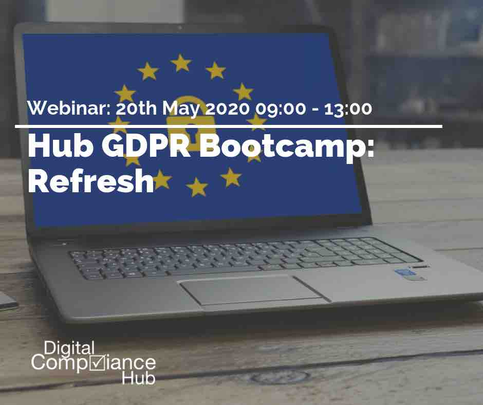 GDPR Refresh Bootcamp