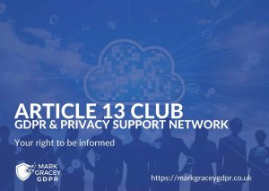Article 13 GDPR Club