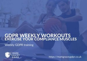 GDPR Weekly Workout Training